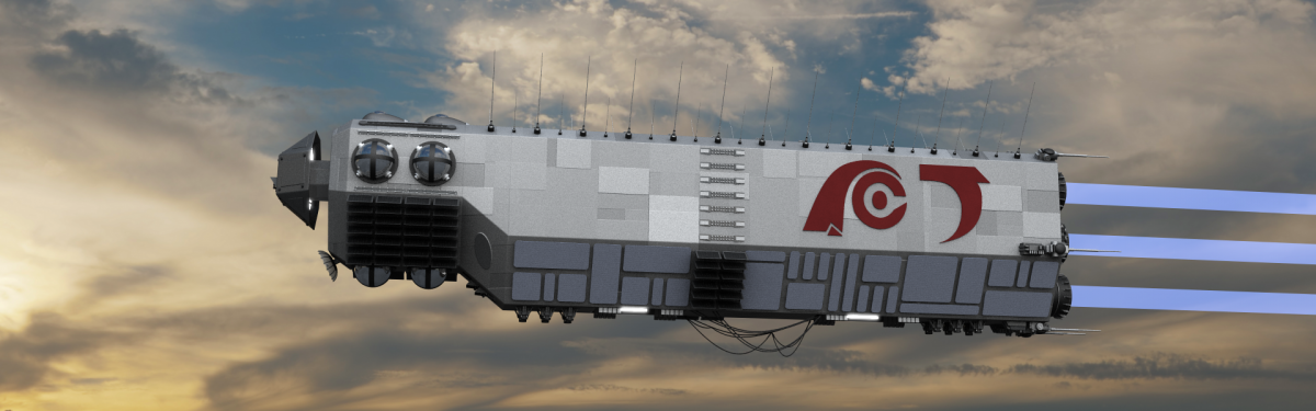The Slabship / Fury – Development and finished renders