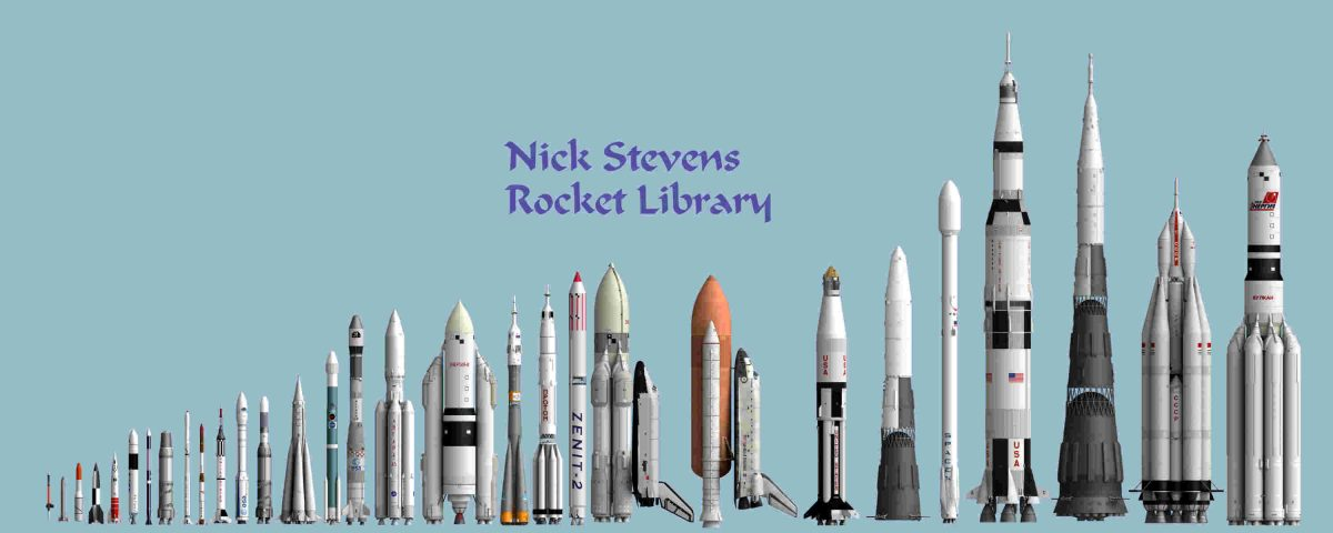 Rocket Library, the big set!