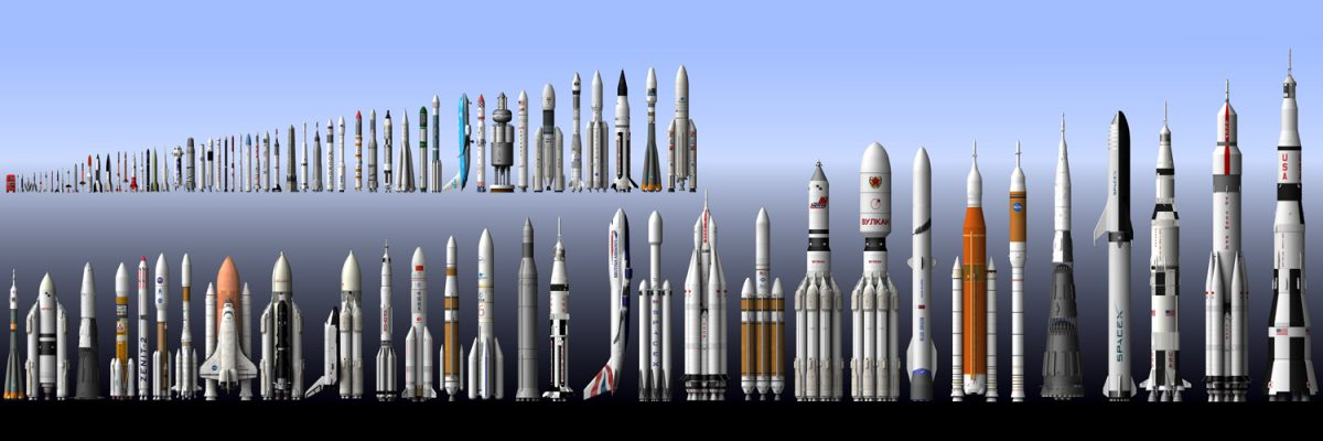 The ten most beautiful rockets!